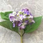Lilac Silk Hydrangea Stem