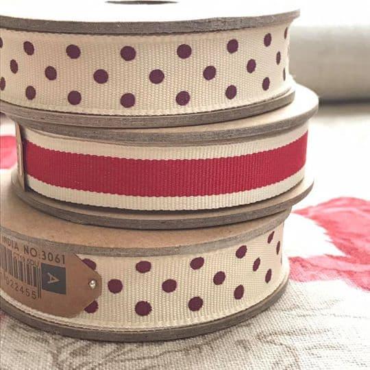 3m Reel Of Ribbon Close Up
