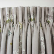 Bespoke Curtain Design Light Grey - Sarah Norton Interiors