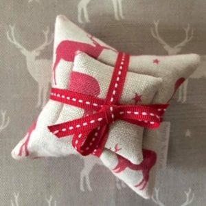 Lavender Filled Stag Cushion Sets