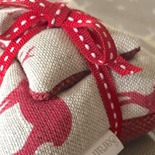 Lavender Filled Stag Cushion Sets Close Up