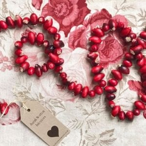 Rose hip Garland