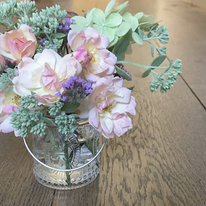 Sarah Norton Interiors - Flower Arrangement In Jar