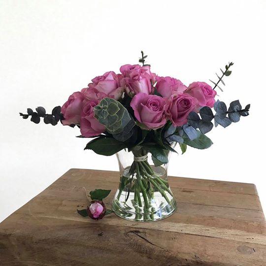 Small Hand-Tied Posy Vase