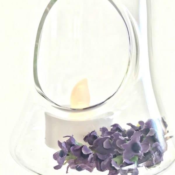 Bell Glass Hanger Close Up