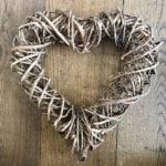 Bound Vine Heart - Large Close up