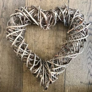 Bound Vine Heart - Medium