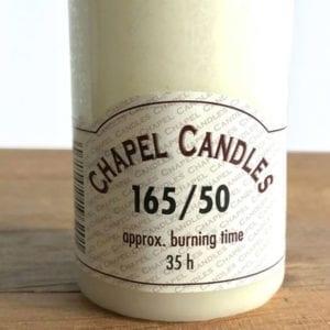 Chapel Candle - 16.5cm x 5cm