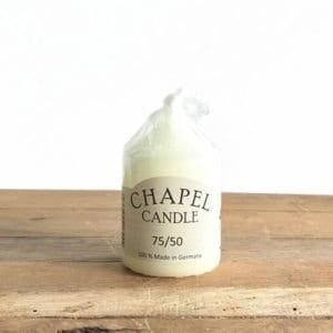 Chapel Candle - 7.5cm x 5cm