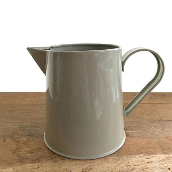 Enamel Jug - Stone Vase