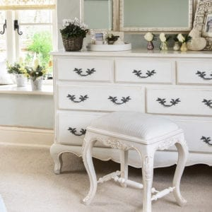 French 7 Drawer Chest