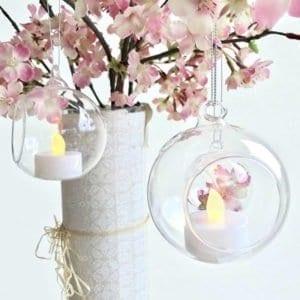 Glass Ball Hanger - Large