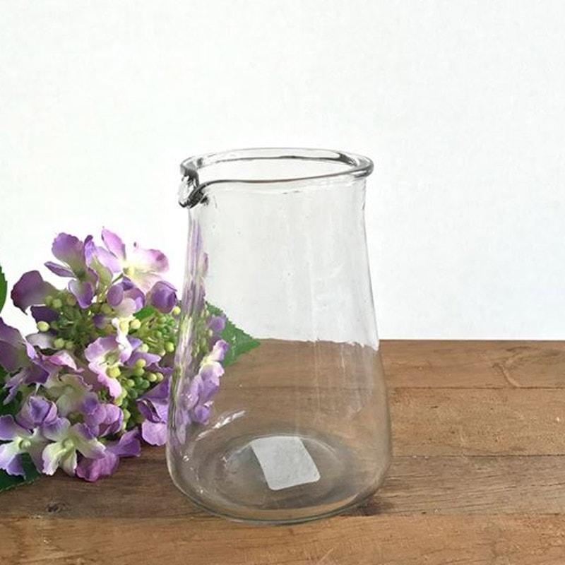 Glass Vintage Style Jug - Large