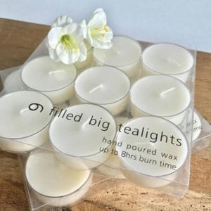 Large Tea-Lights - Set of 9