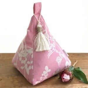 Pyramid Doorstop Pink - Unscented Pink