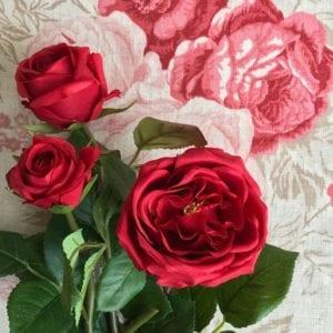 Rose Spray - Red