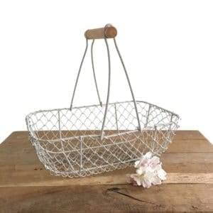 Rustic Wire Trug - Medium
