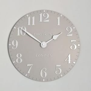Thomas Kent Arabic 12 Wall Clock