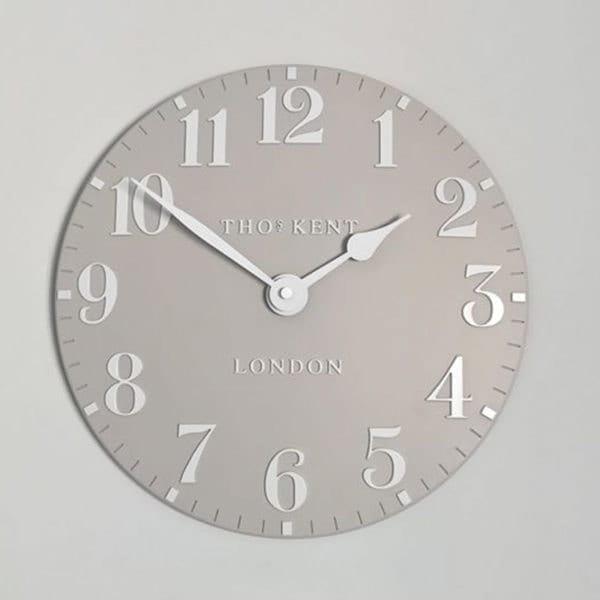 Thomas Kent Arabic 12 Wall Clock