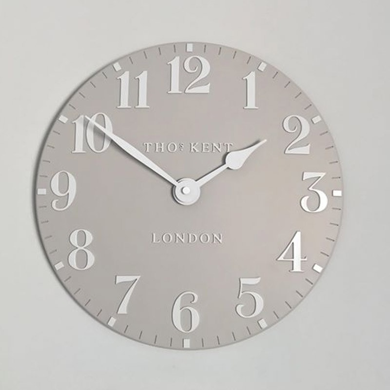 Thomas Kent Arabic 12 Wall Clock Sarah Norton Interiors