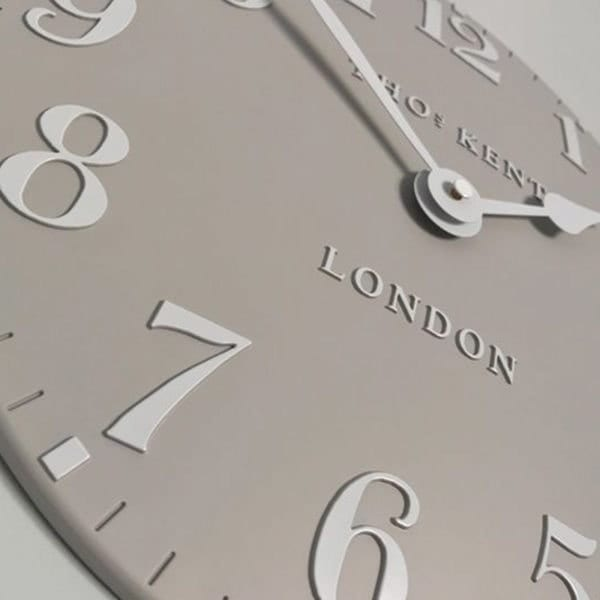 Thomas Kent Arabic 12 Wall Clock Close Up