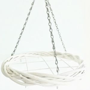 White Willow Hoop Hanger